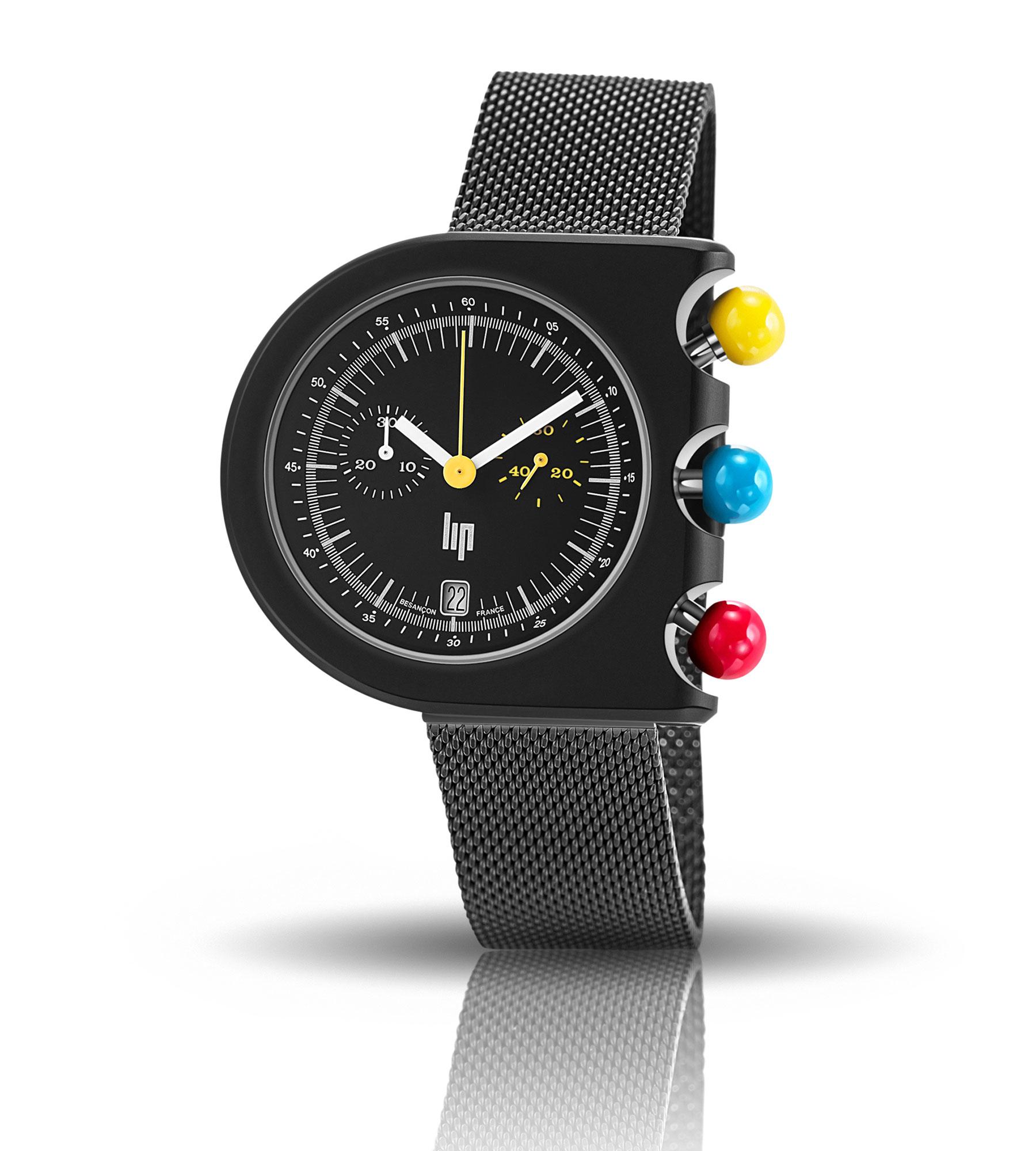 Horlogerie –LIP Chrono Roger Talon montre